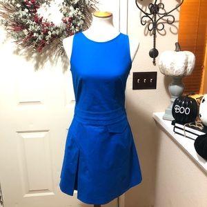 Chic Blue Derek Lam 10 Crosby Luxurious Midi Dress